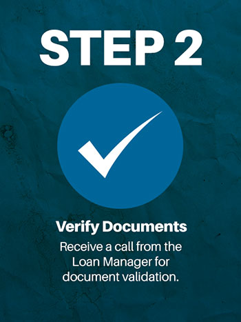 online loan application step 2