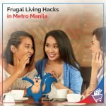 frugal living hacks in metro manila